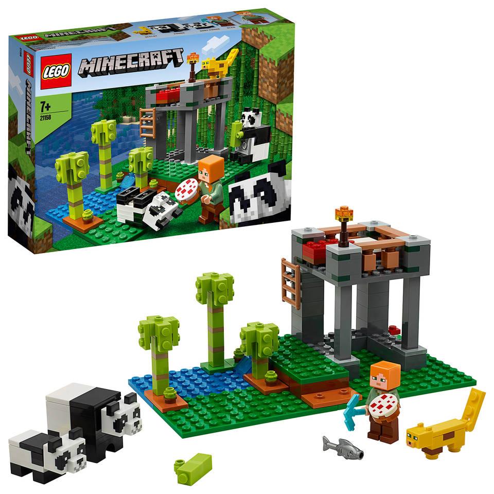 LEGO Minecraft het pandaverblijf 21158