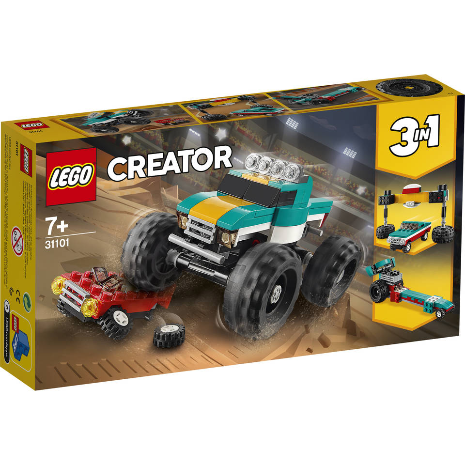 LEGO Creator monstertruck 31101