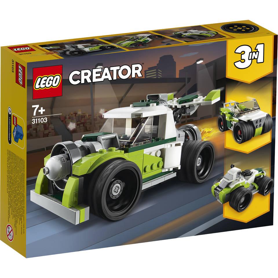 LEGO Creator raketwagen 31103