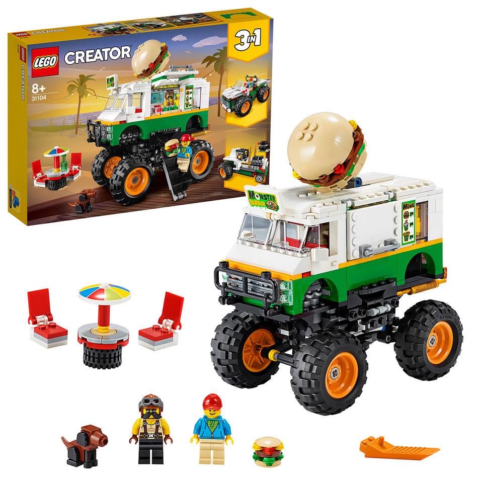 LEGO Creator hamburger monstertruck 31104