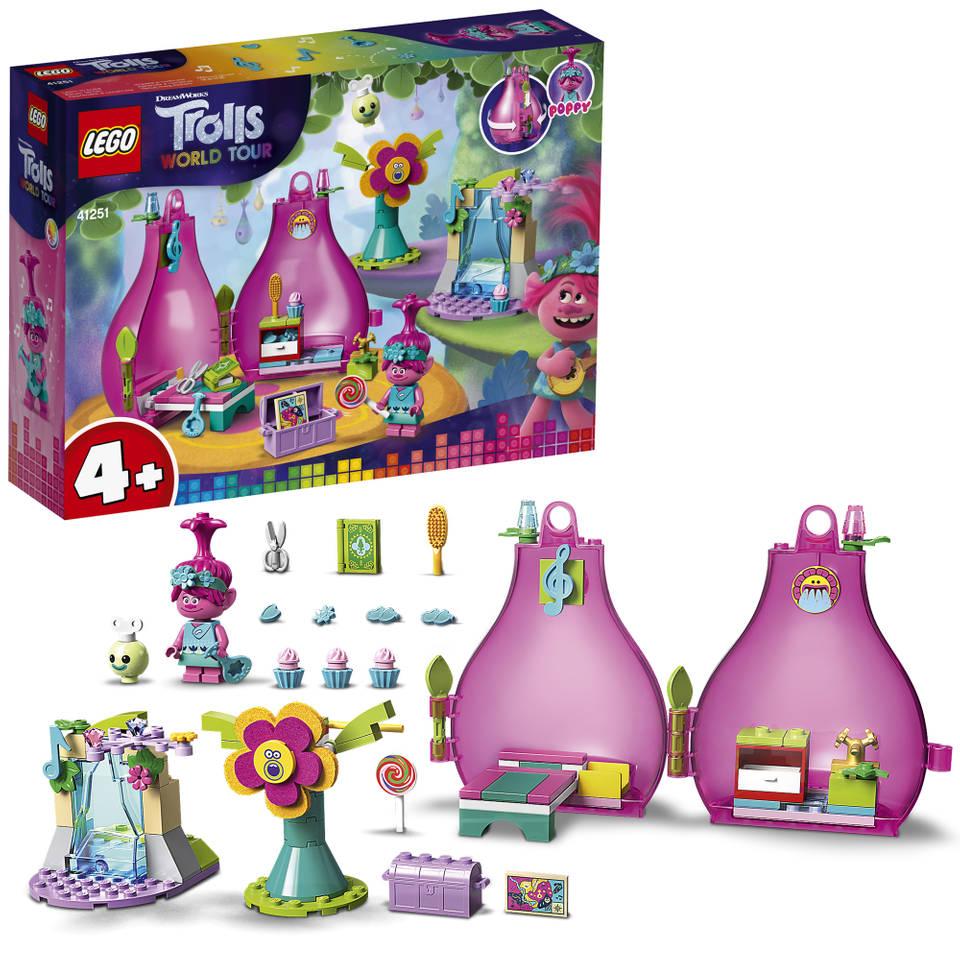 LEGO Trolls Poppy's huisje 41251