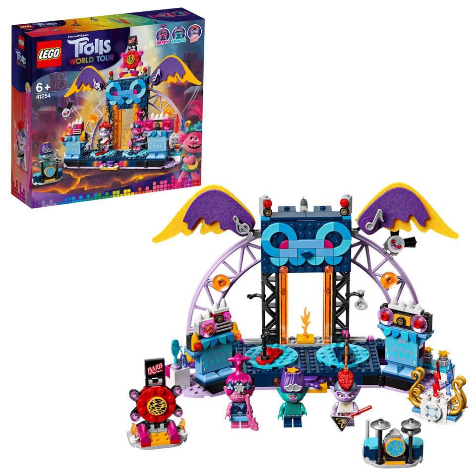 LEGO Trolls Volcano Rock City concert 41254