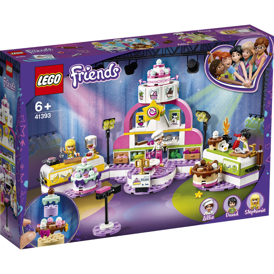 LEGO Friends bakwedstrijd 41393
