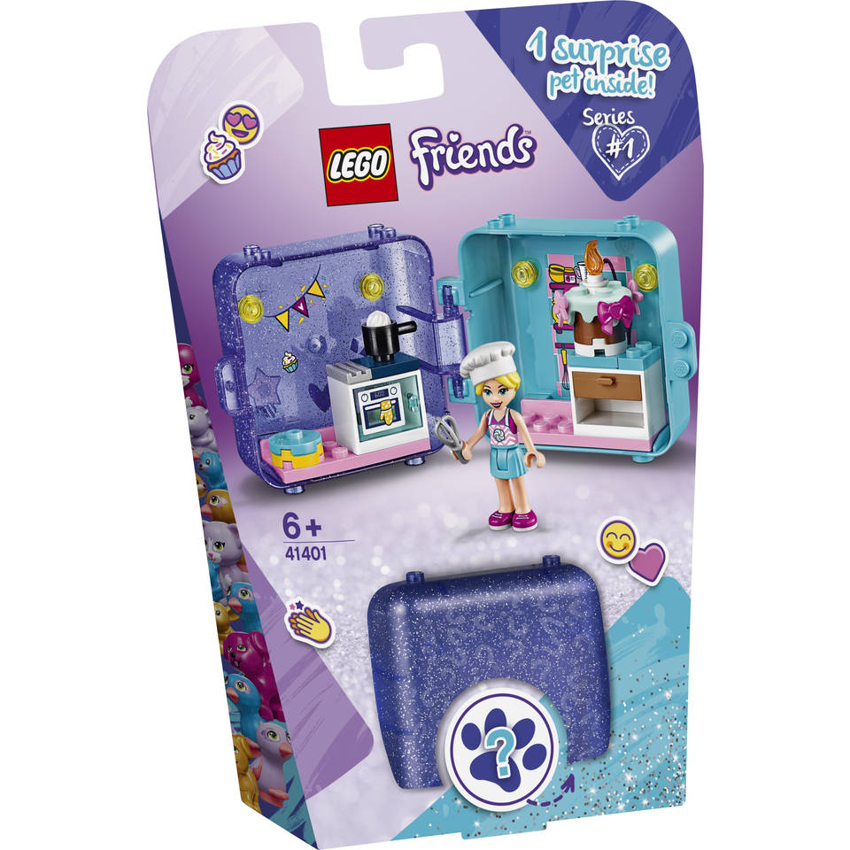 LEGO Friends Stephanies speelkubus 41401