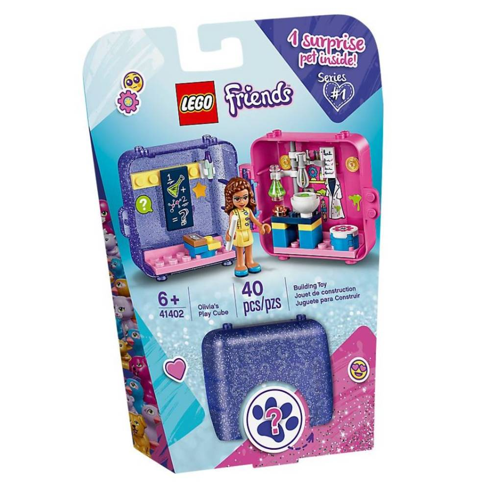 LEGO Friends Olivia's speelkubus 41402