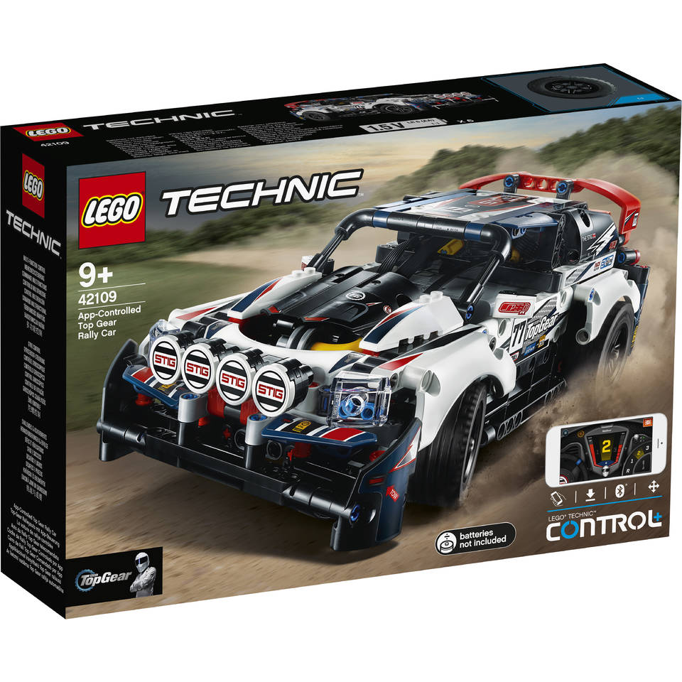 LEGO Technic Top Gear rallyauto met app-bediening 42109