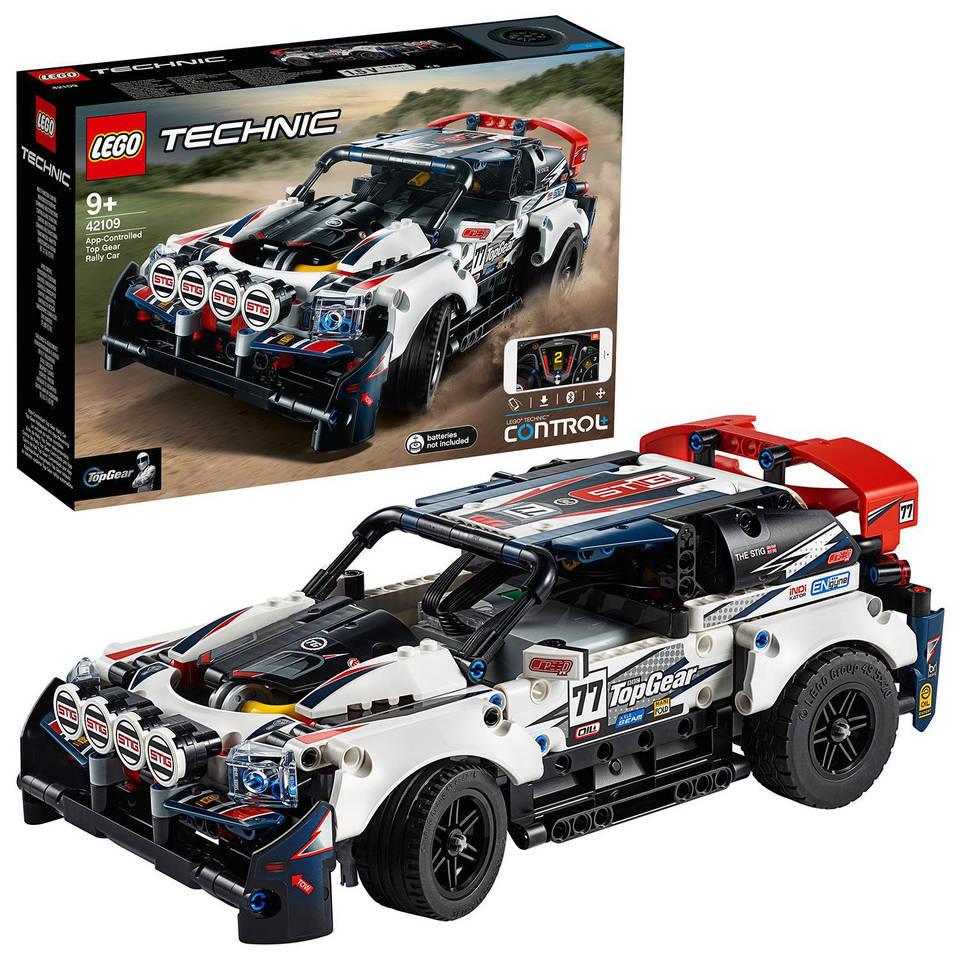 LEGO Technic Top Gear rallyauto met app-bediening 42109