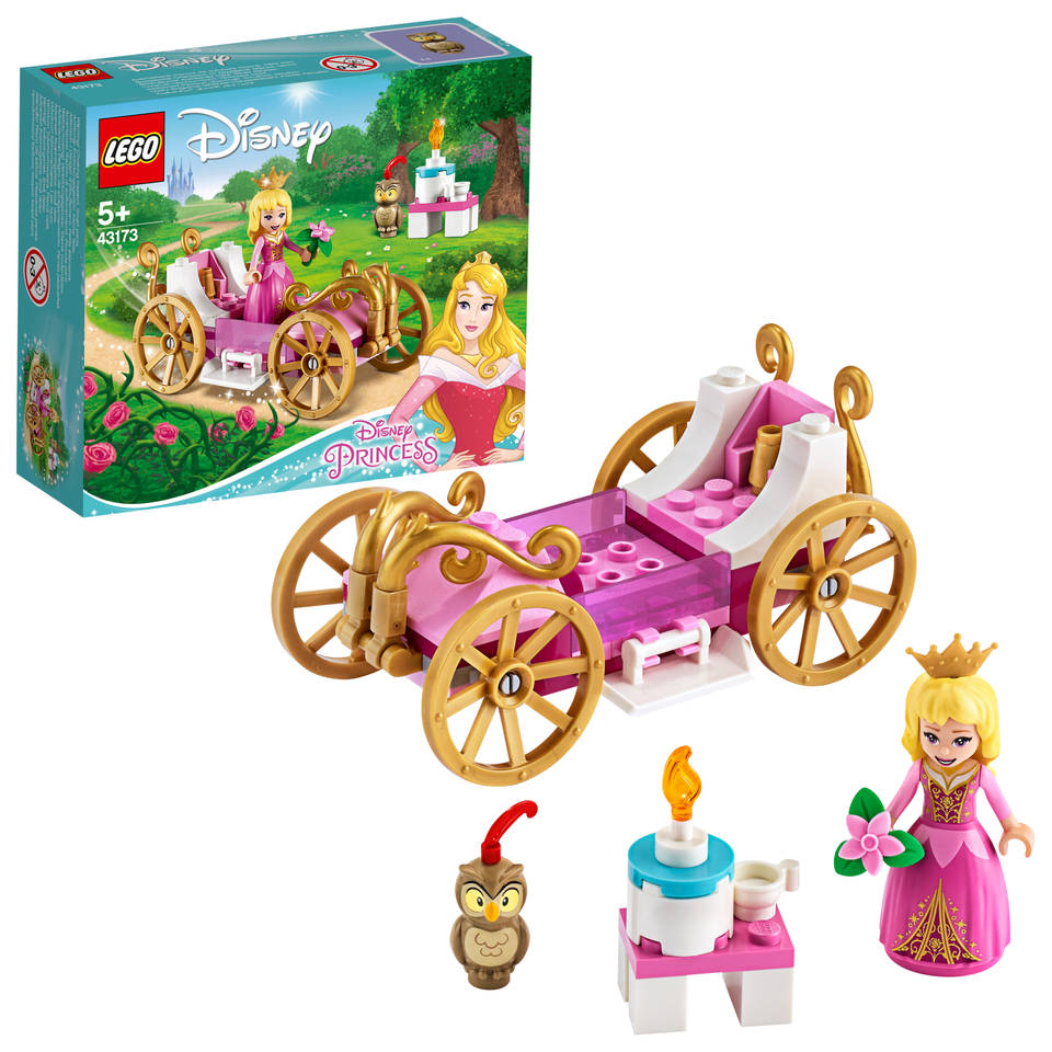 LEGO Disney Princess Aurora's koninklijke koets 43173