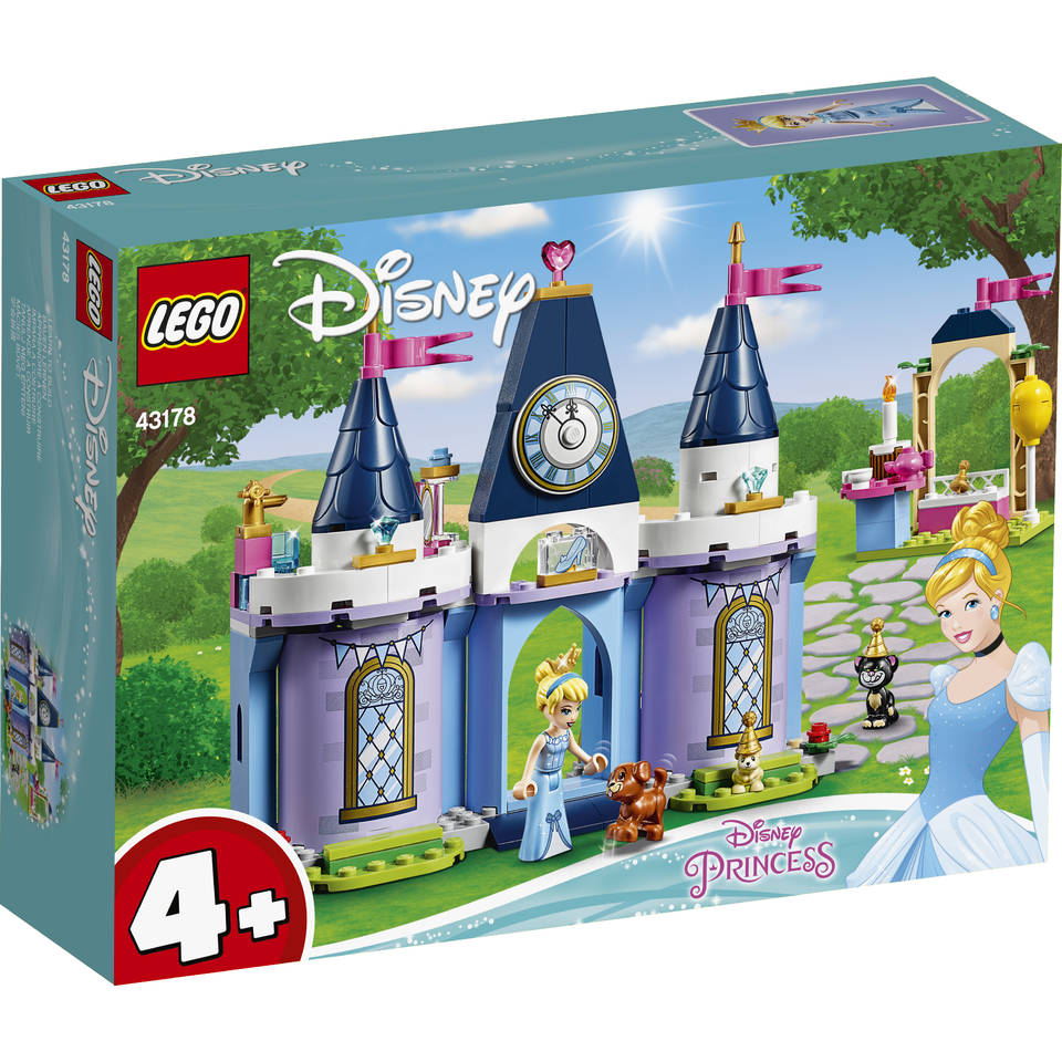 LEGO Disney Princess het kasteelfeest van Assepoester 43178