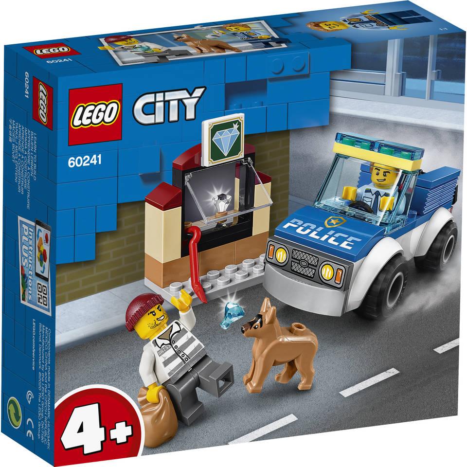 LEGO City politiehondenpatrouille 60241