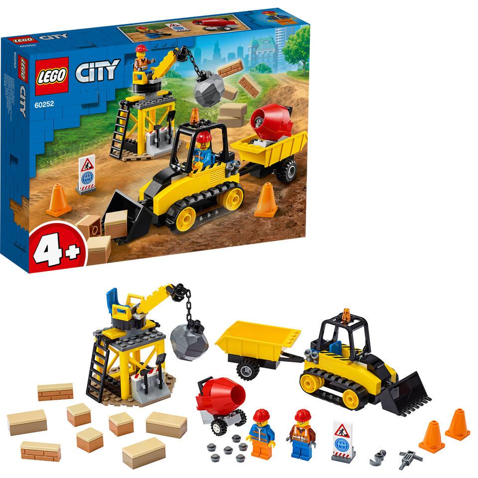 LEGO City constructiebulldozer 60252