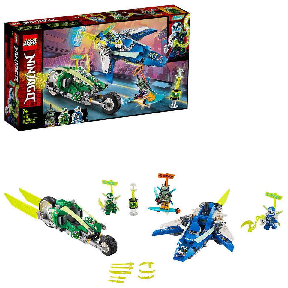 LEGO Ninjago Jay en Lloyds supersnelle racers 71709