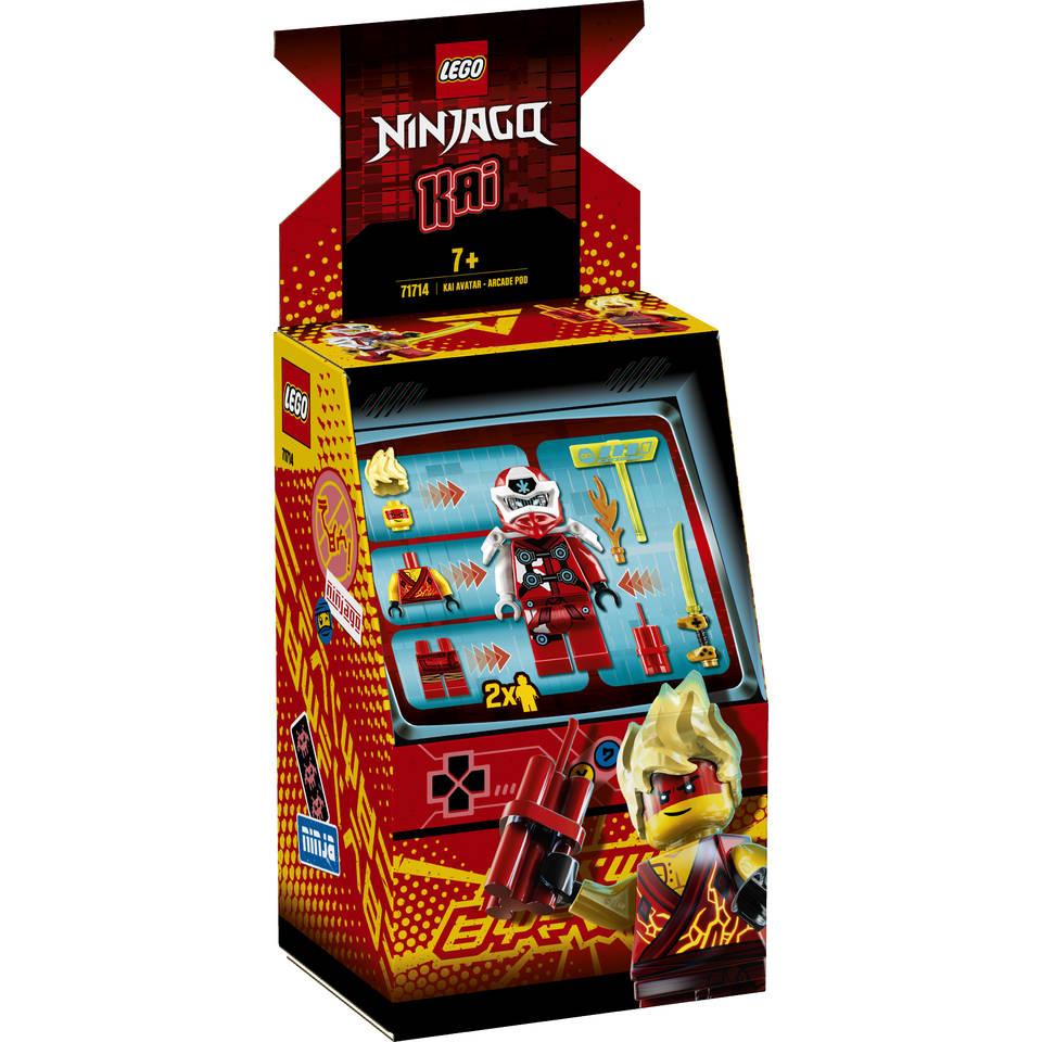 LEGO Ninjago Kai avatar Arcade Pod 71714