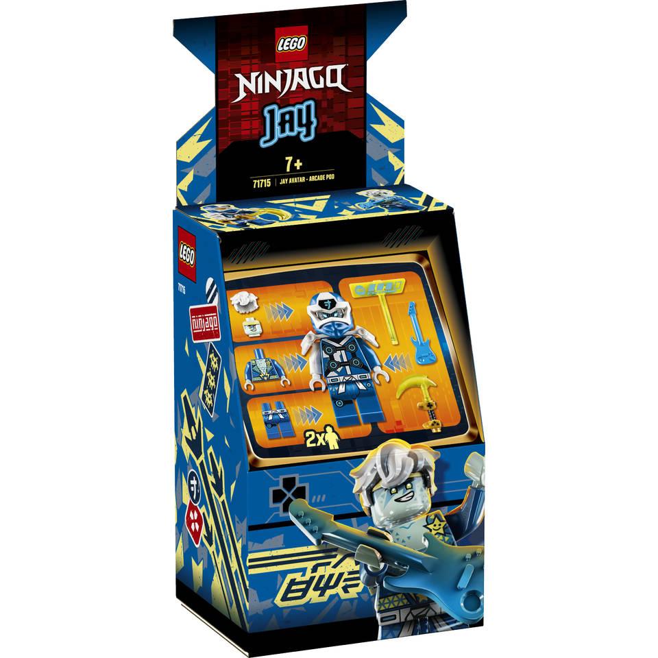 LEGO Ninjago Jay avatar Arcade Pod 71715