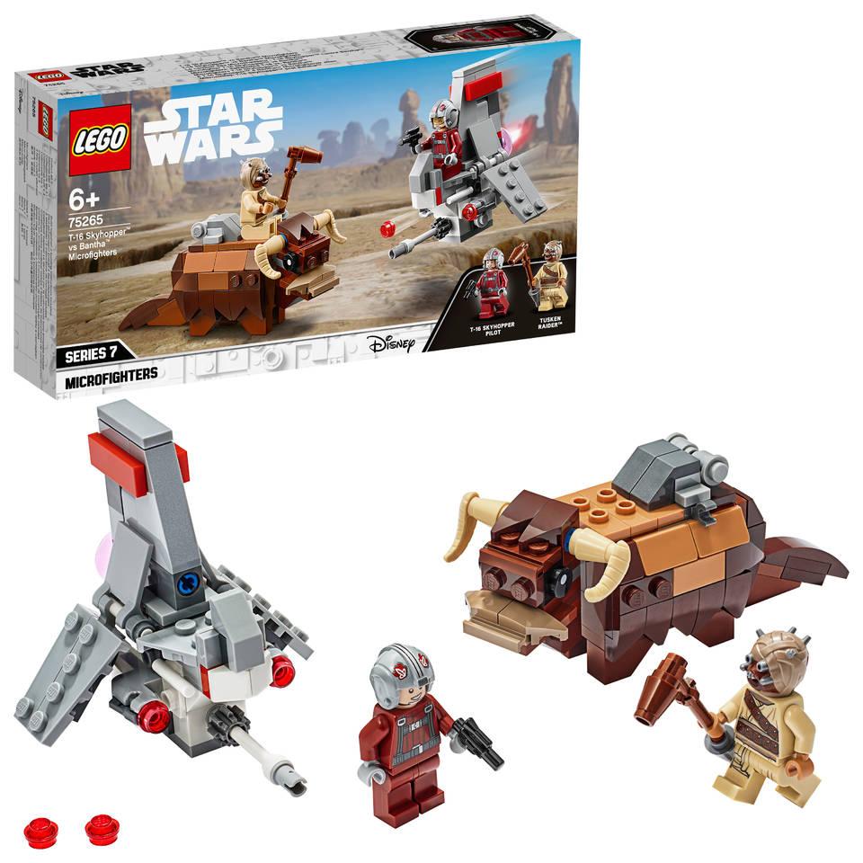LEGO Star Wars T16 Skyhopper vs. Bantha Microfighters 75265