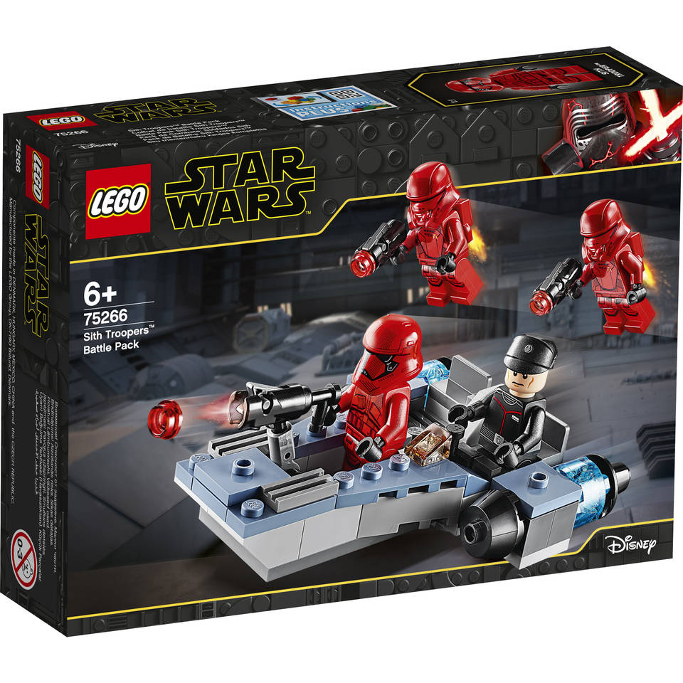 LEGO Star Wars Episode IX Sith Troopers battle pack 75266