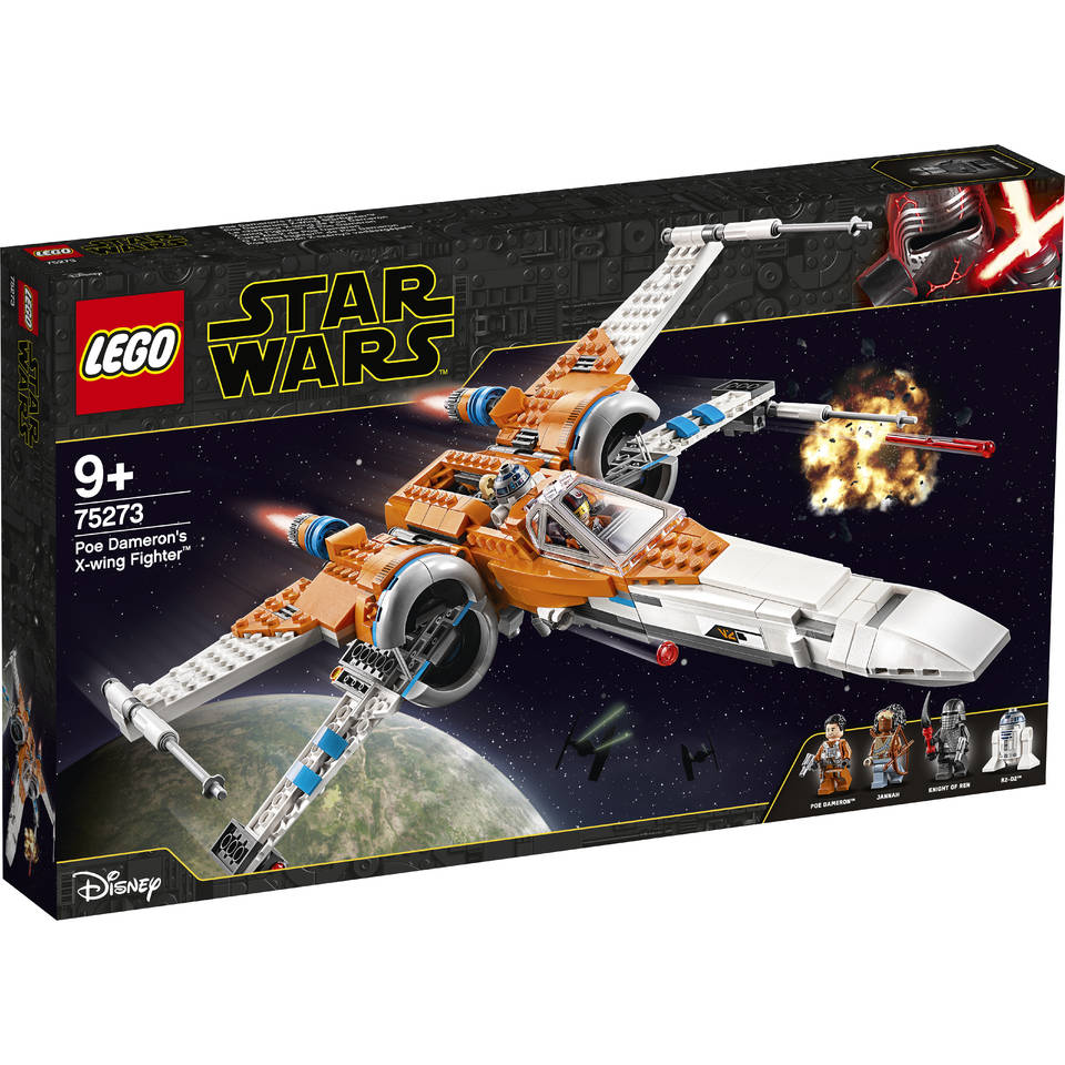 LEGO Star Wars Episode IX Poe Damerons X-wing Fighter 75273