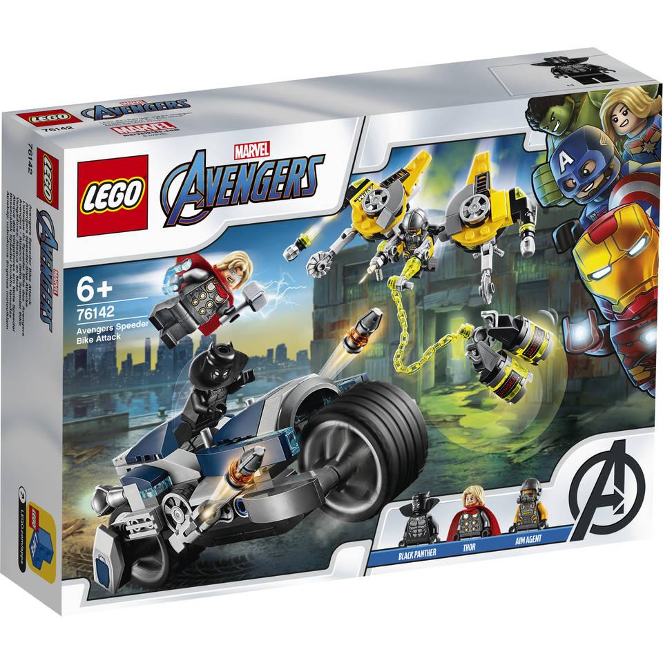 LEGO Marvel Avengers Movie 4 Avengers Speeder Bike aanval 76142