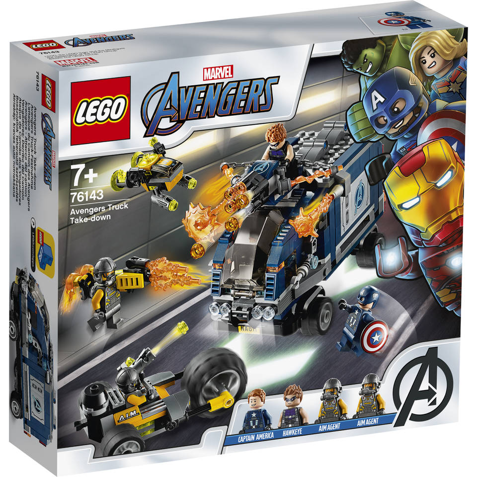 LEGO Marvel Avengers Movie 4 Avengers vrachtwagenvictorie 76143