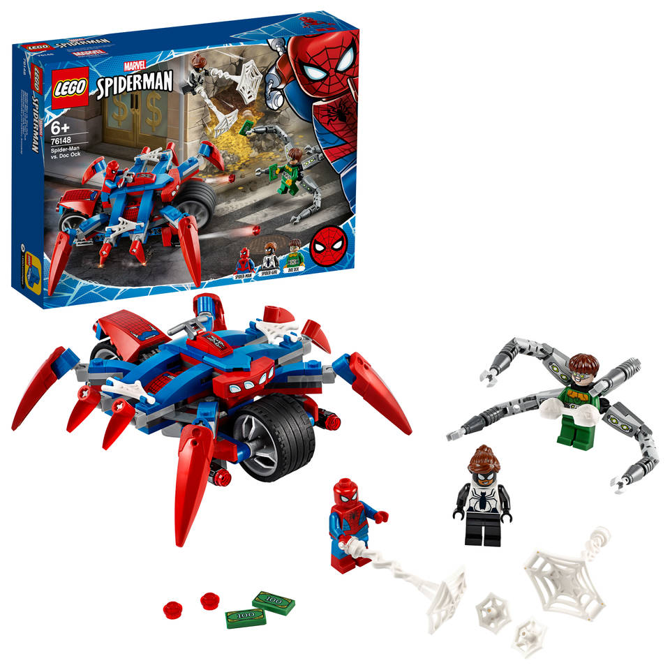 LEGO Marvel Super Heroes Spider-Man vs Doc Ock 76148