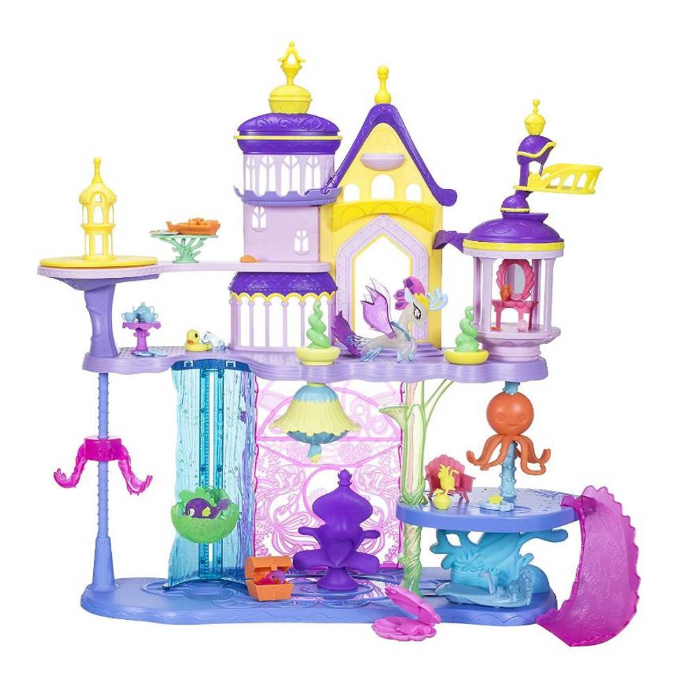 My Little Pony The Movie Canterlot & Seaquestria kasteel