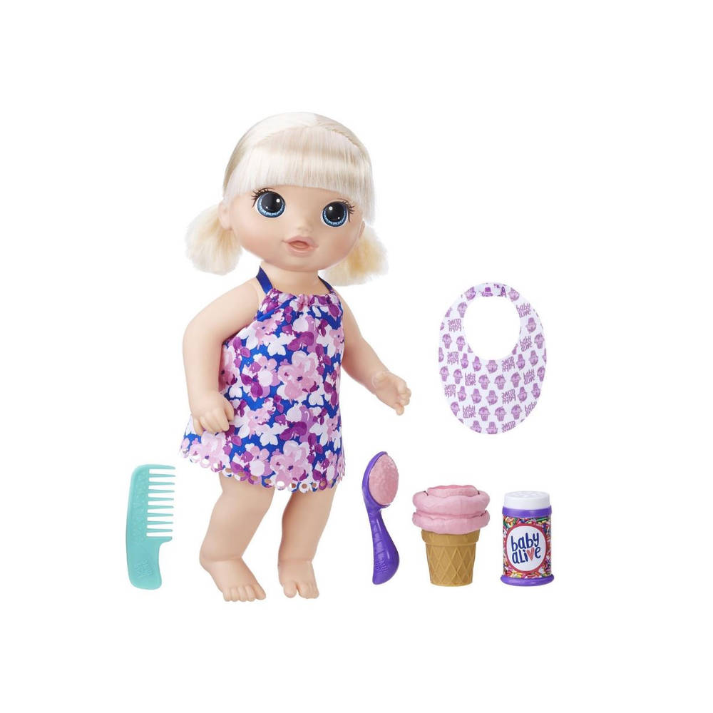 Baby Alive magische lepel pop - blond