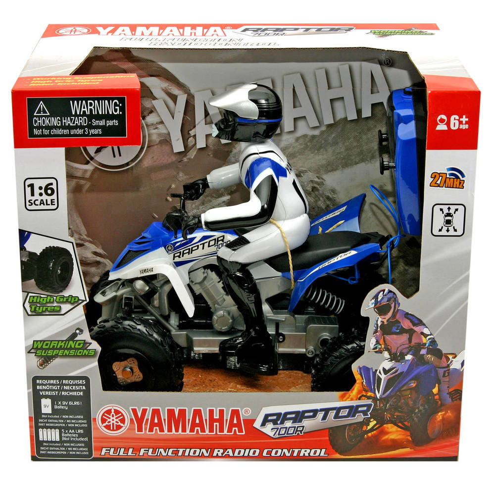 Yamaha op afstand bestuurbare quad Raptor 700R - 1:16