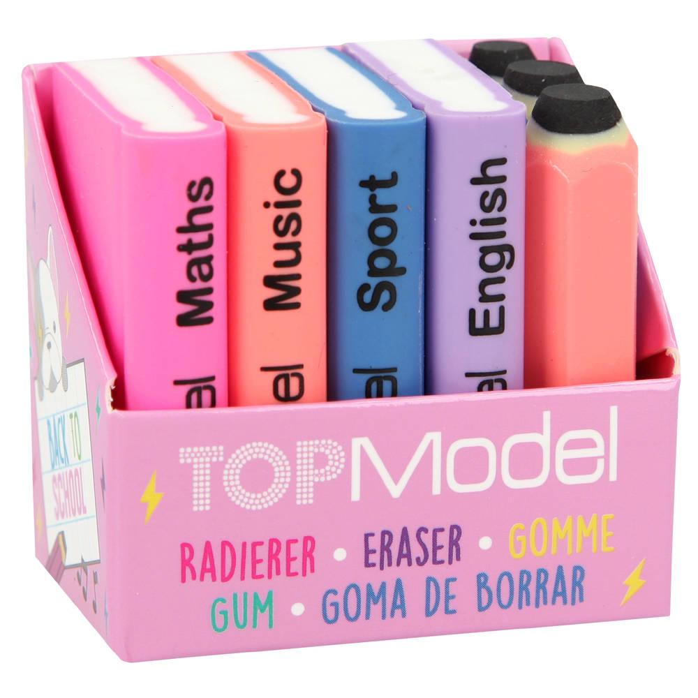 TOPModel Dog gumset mini schoolboeken en potloden