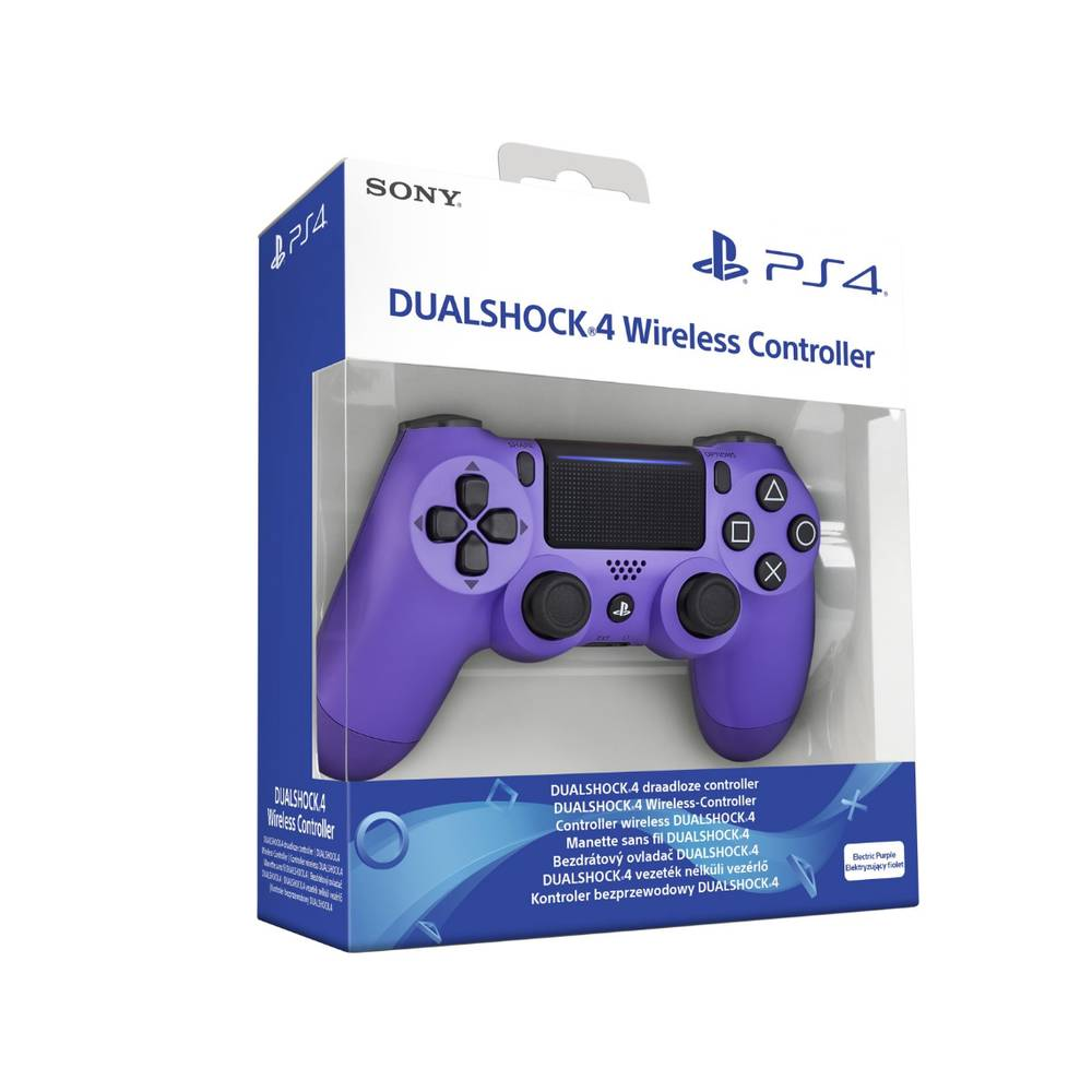 PS4 DualShock 4 Controller V2 Electric Purple
