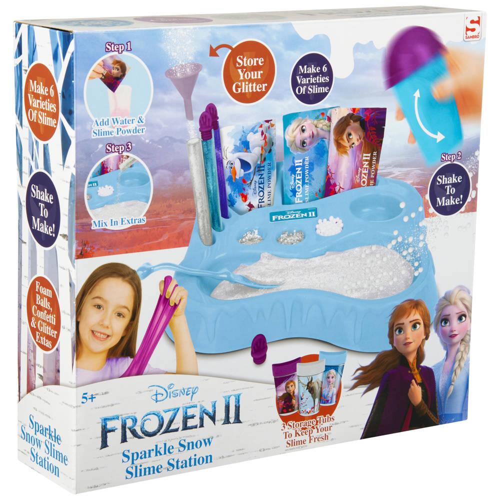 Disney Frozen 2 Maak je eigen sneeuw slijm station