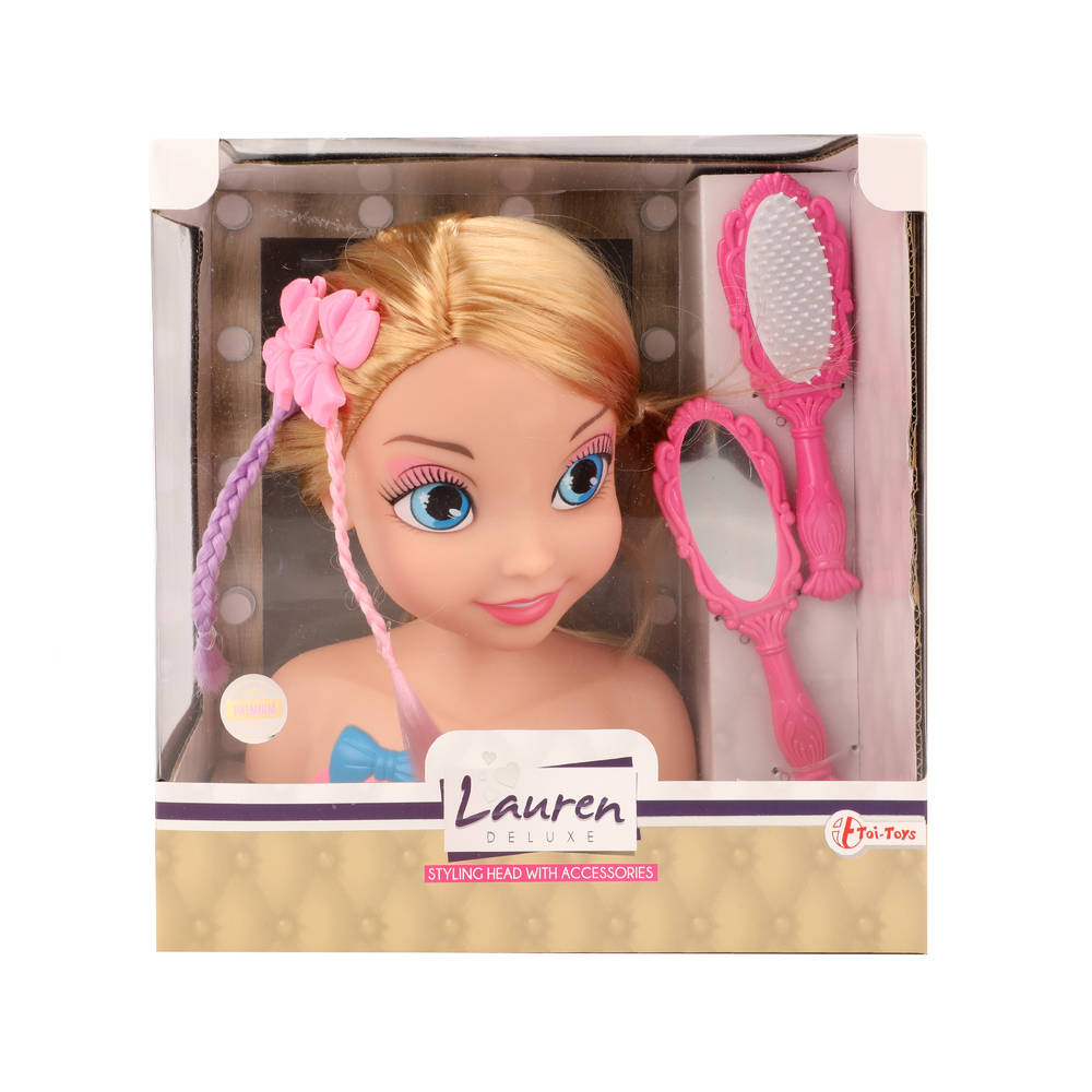 Lauren kaphoofd met accesoires