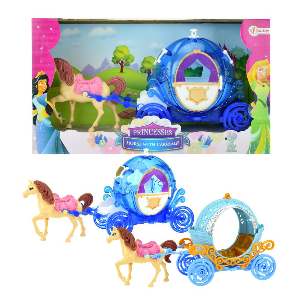 Prinsespaard met koets
