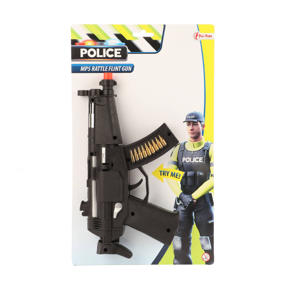 Ratelgeweer MP5 - 24 cm
