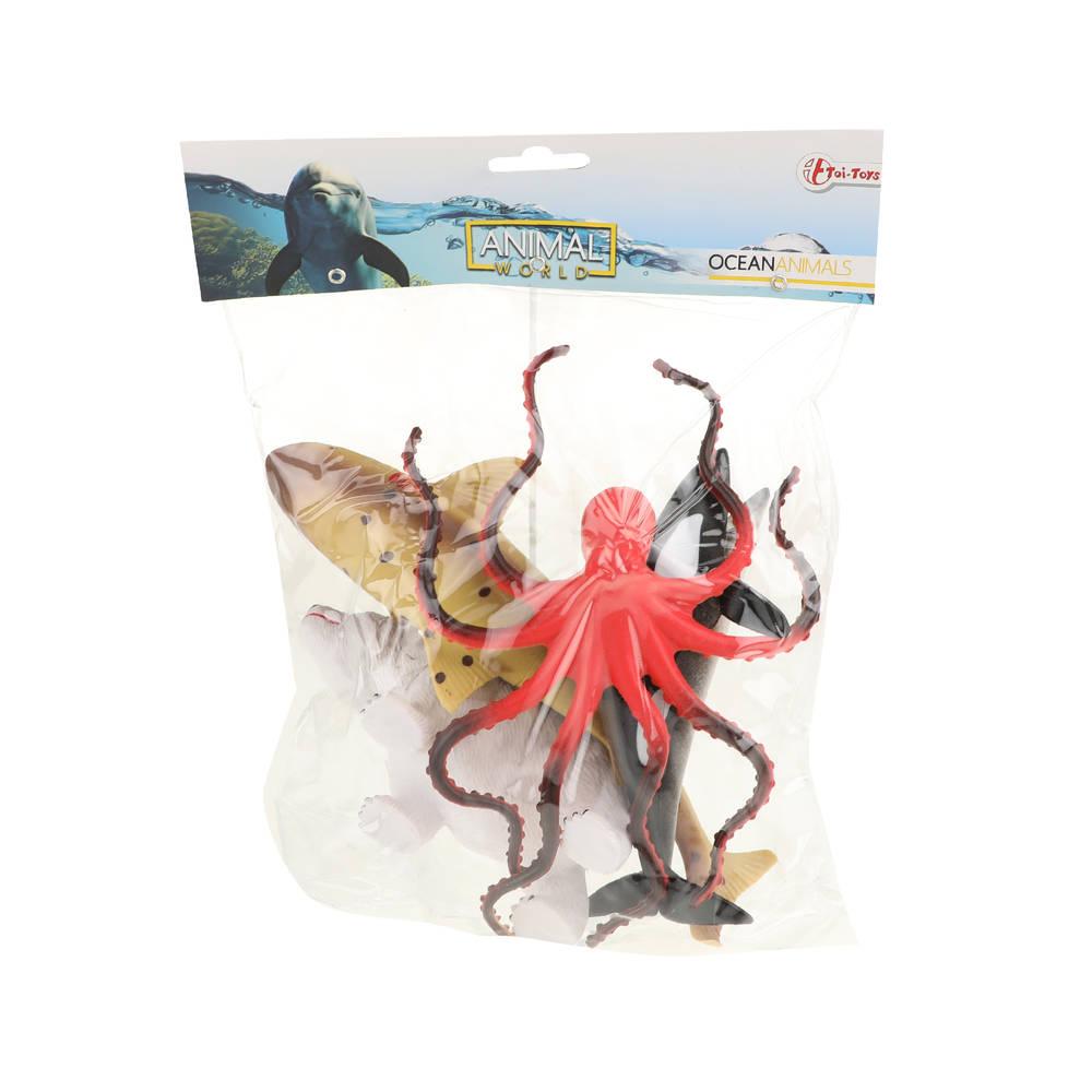 Animal World zeedieren in zak