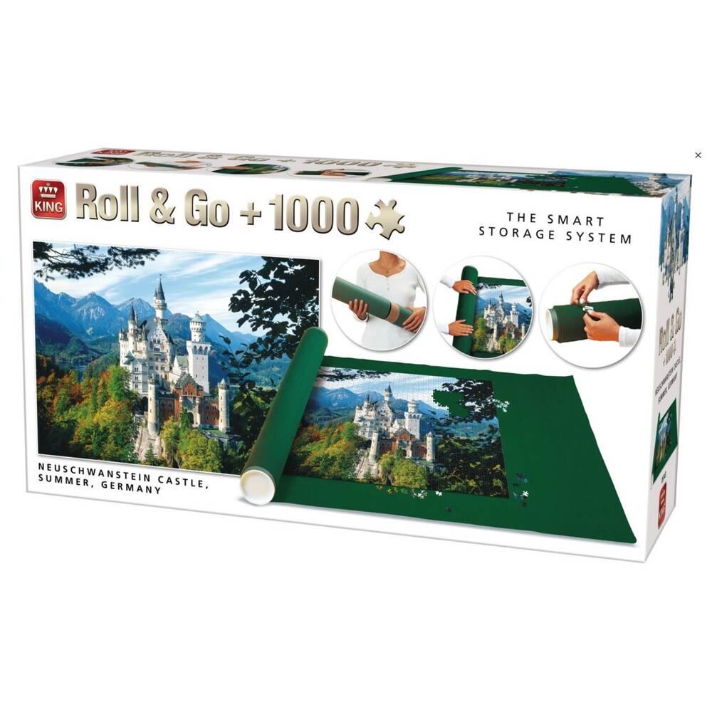 Roll & Go puzzel Neuschwanstein - 1000 stukjes