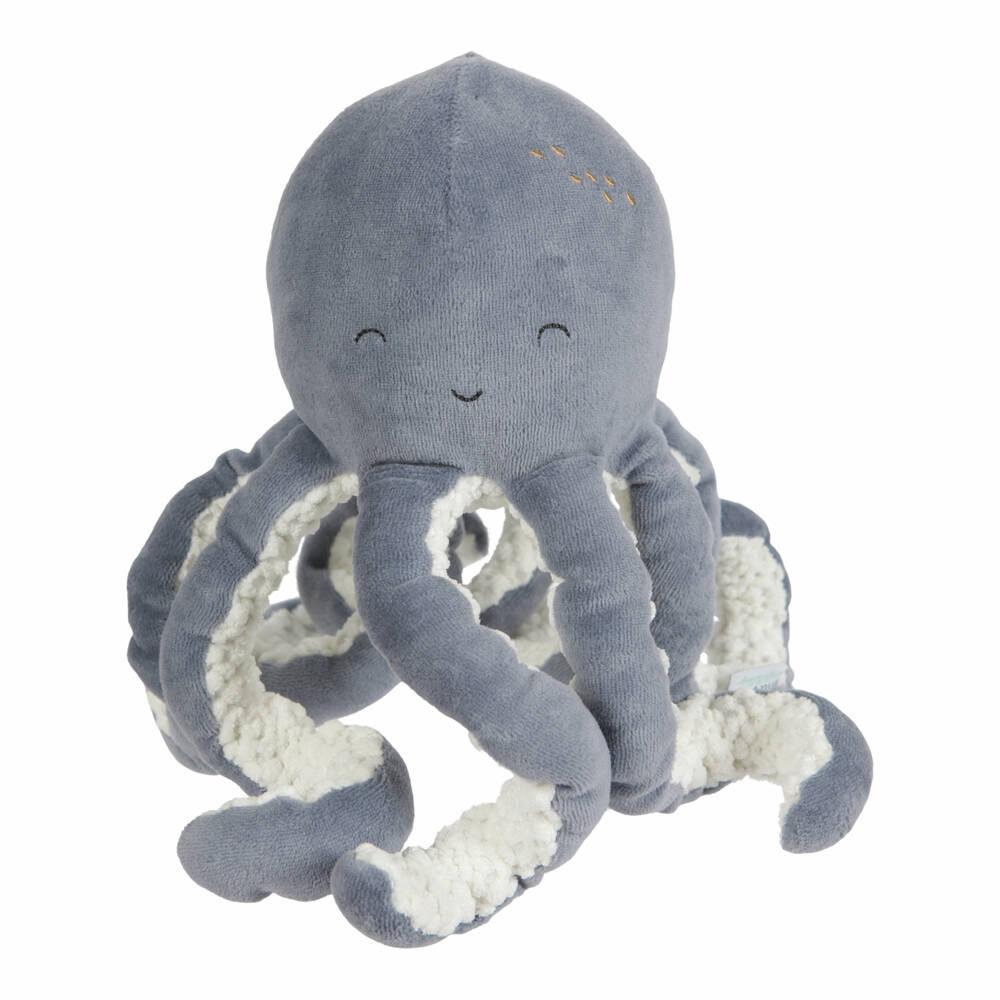 Little Dutch octopus knuffel - blauw