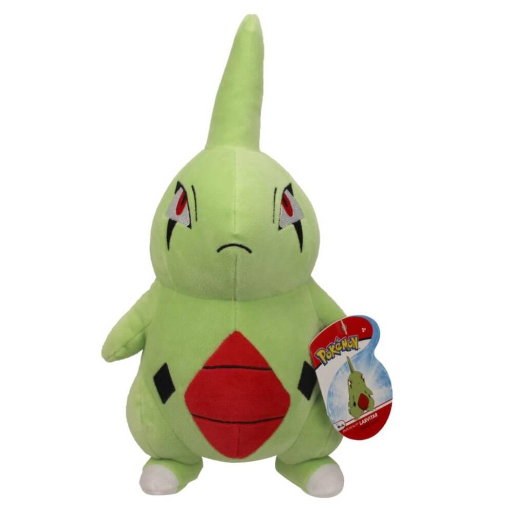 Pokémon Larvitar pluchen knuffel - 20 cm