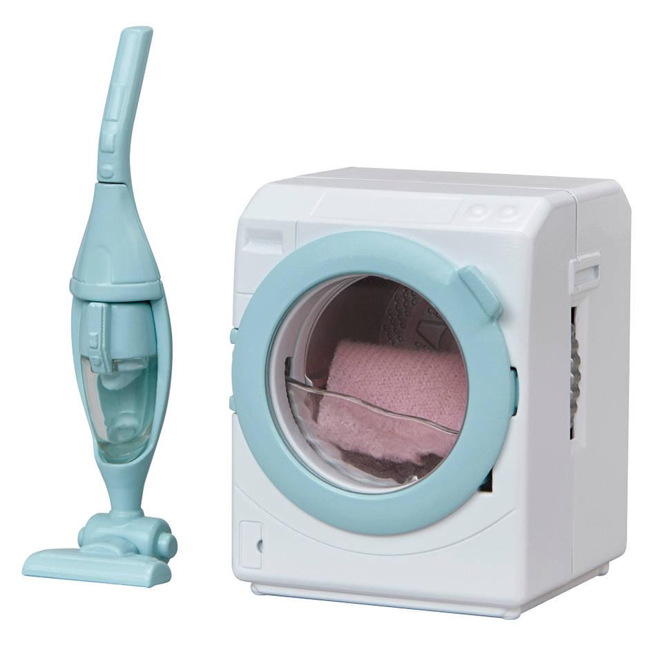 Sylvanian Families wasmachine en stofzuiger 5445