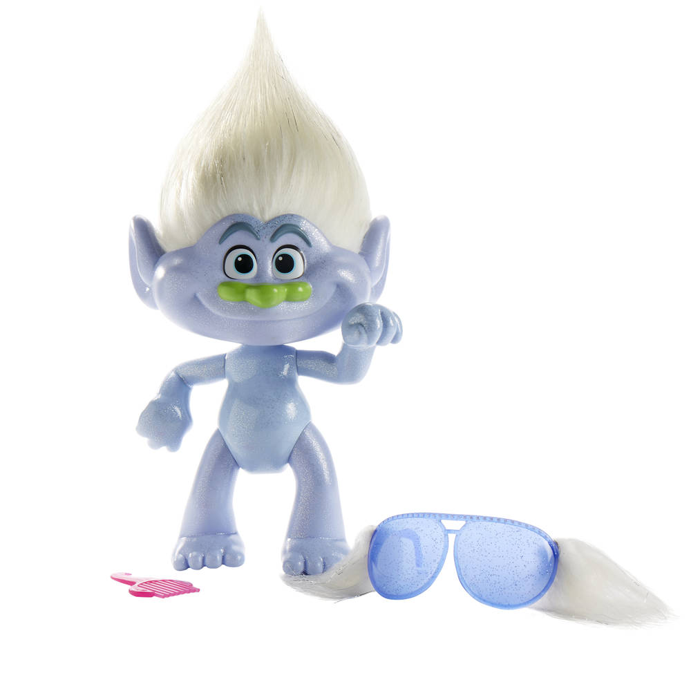 Trolls Glitteriffic Guy Diamond speelfiguur