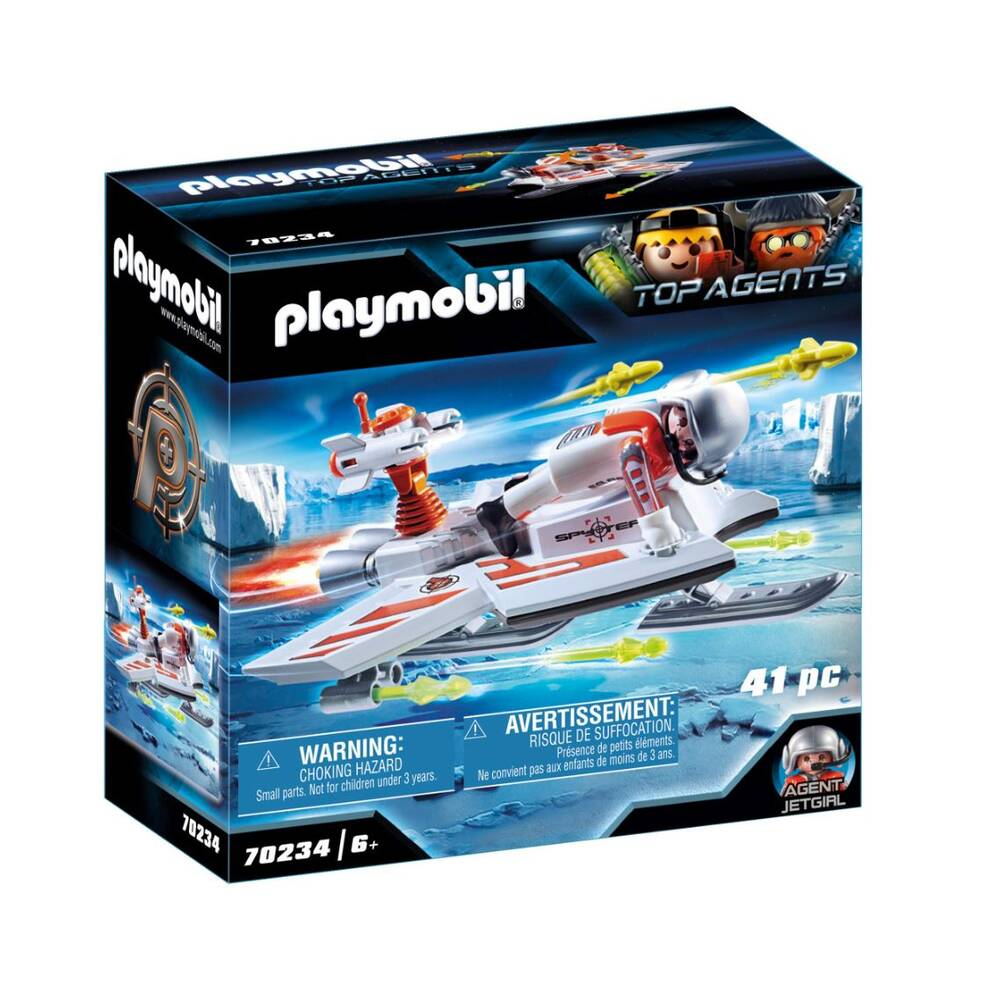 PLAYMOBIL Top Agents Spy Team piloot 70234