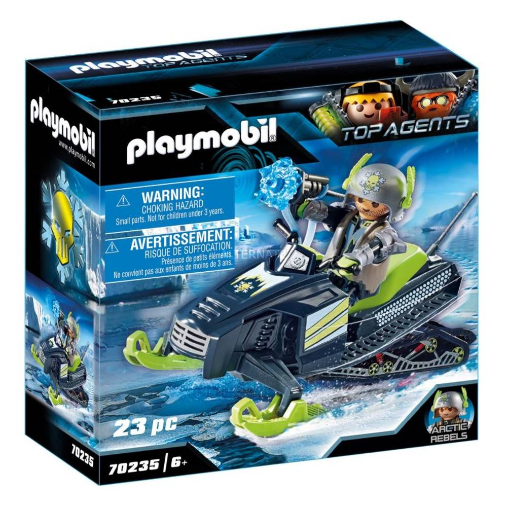 PLAYMOBIL Top Agents Arctic Rebels sneeuwscooter 70235