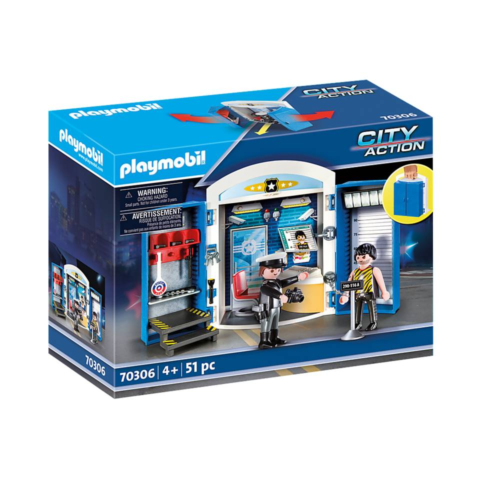PLAYMOBIL City Action speelbox politiestation 70306