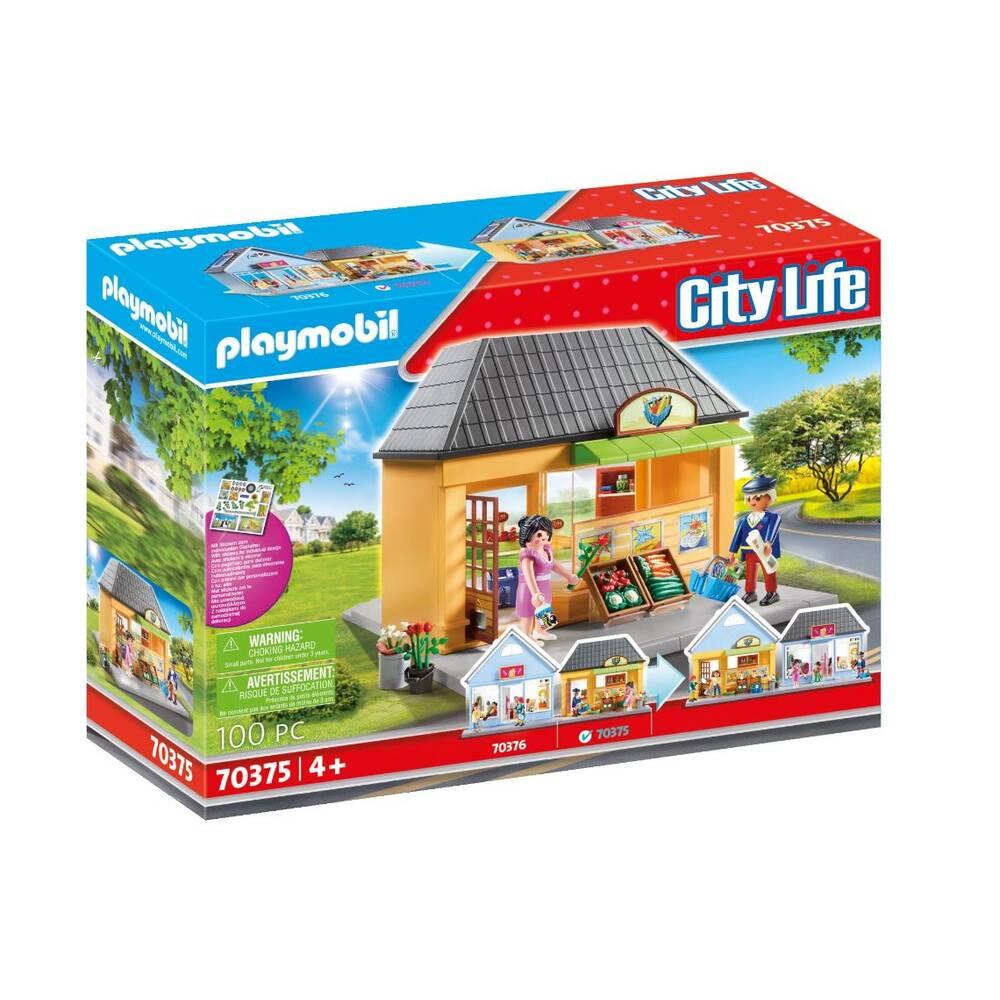 PLAYMOBIL City Life mijn kruidenier 70375