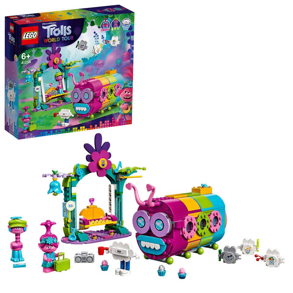 LEGO Trolls regenboogrupsbus 41256