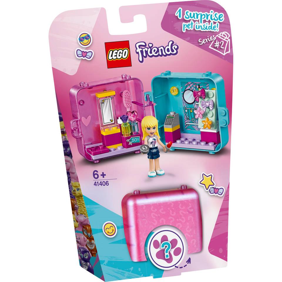 LEGO Friends Stephanie's winkelspeelkubus 41406