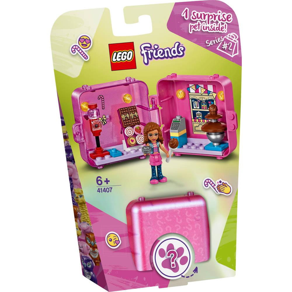 LEGO Friends Olivia's winkelspeelkubus 41407