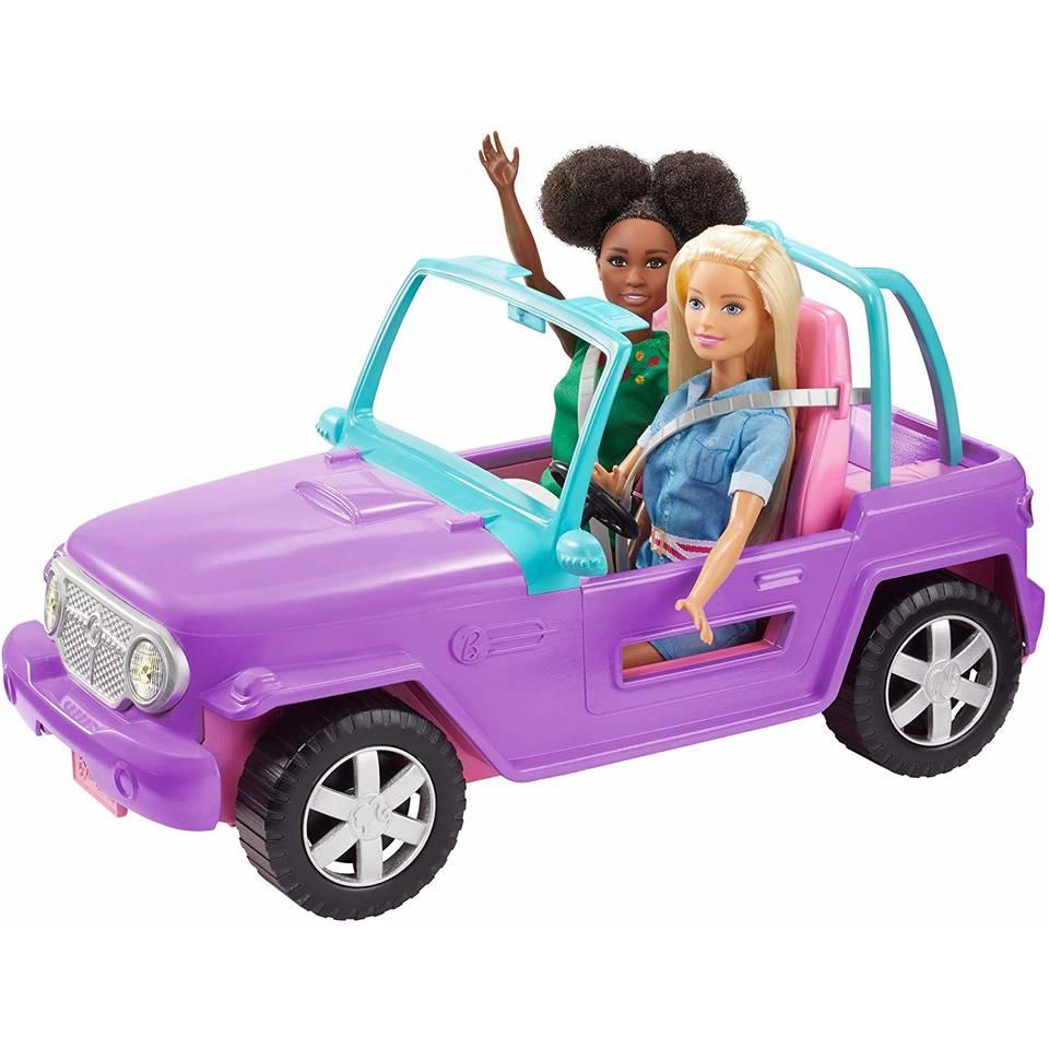 Barbie strand jeep