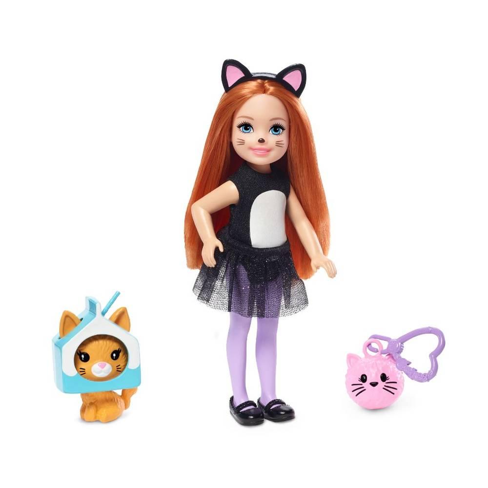 Barbie Club Chelsea pop kattenkostuum