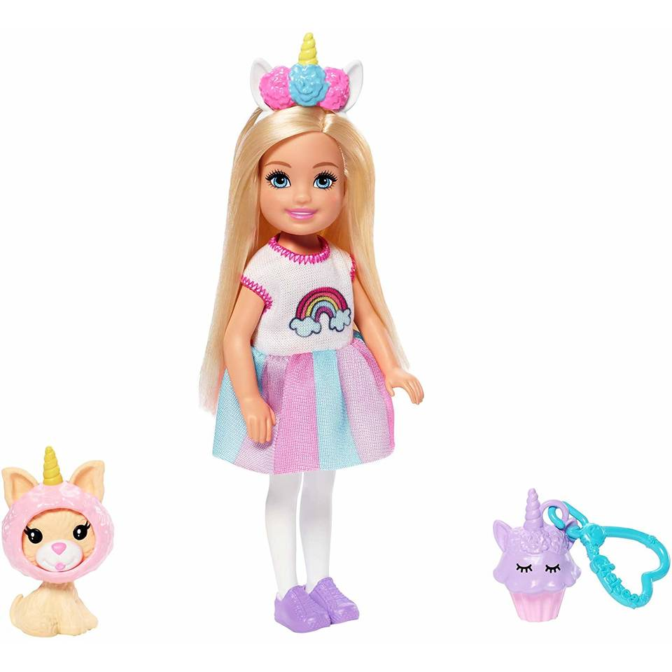 Barbie Club Chelsea pop eenhoornkostuum