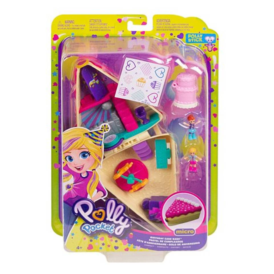 Polly Pocket verjaardagstaart